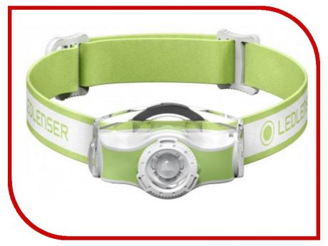 Фонарь LED Lenser MH3 Green 501593