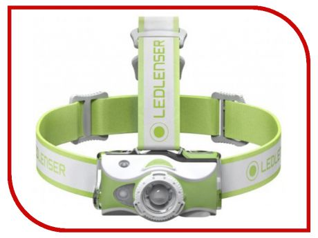 Фонарь LED Lenser MH7 Green 500991
