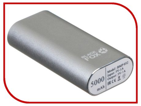 Аккумулятор Black Fox 5000mAh Silver BMP052S