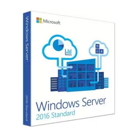 Операционная система MICROSOFT Windows Server 2016 Standard, 64 bit, Rus, BOX, DVD [p73-07059]