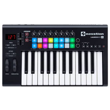 MIDI-клавиатура Novation Launchkey 25 MK2
