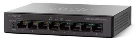 Коммутатор Cisco SB SG110D-08-EU 8 портов 10/100/1000Mbps
