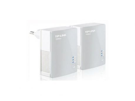Комплект адаптеров Powerline TP-LINK TL-PA4010KIT 10/100Mbps 500Mbps
