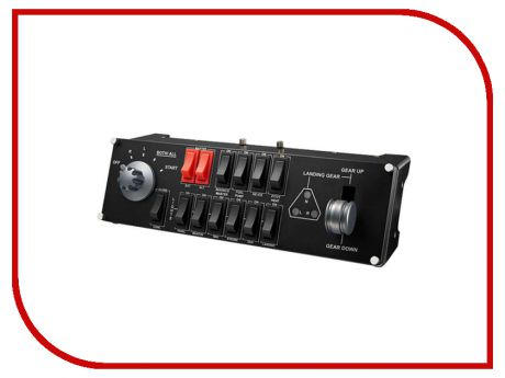 Блок переключателей Logitech G Saitek Pro Flight Switch Panel 945-000012