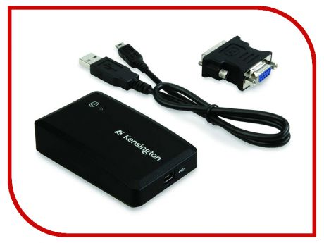 Аксессуар Kensington Universal Multi-Display Adapter USB K33928EU