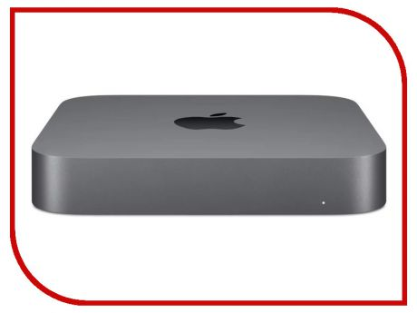 Настольный компьютер APPLE Mac Mini MRTT2RU/A (Intel Core i5 3.0 GHz/8192Mb/256Gb SSD/Intel HD Graphics/Wi-Fi/Bluetooth/macOS)