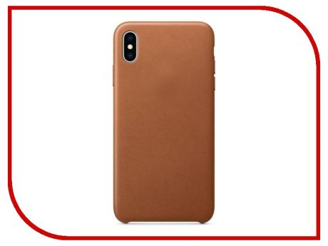 Аксессуар Чехол APPLE iPhone XS Max Leather Case Saddle Brown MRWV2ZM/A