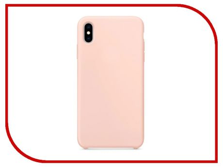Аксессуар Чехол APPLE iPhone XS Max Silicone Case Pink Sand MTFD2ZM/A
