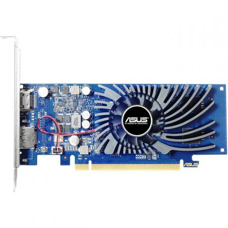 Видеокарта ASUS GeForce GT 1030 2048Mb, GT 1030 GT1030-2G-BRK DP, HDMI Ret