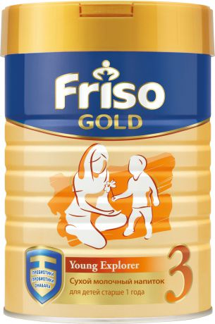 Сухие Friso Фрисо Gold 3 с 12 мес. 800 г