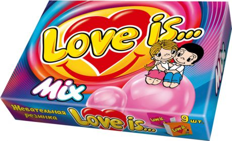 Десерты Love is Love is... MIX 9 шт.
