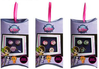 Littlest Pet Shop Daisy Design Littlest Pet Shop Набор бижутерии Daisy Design «Littlest Pet Shop - Любимые питомцы»