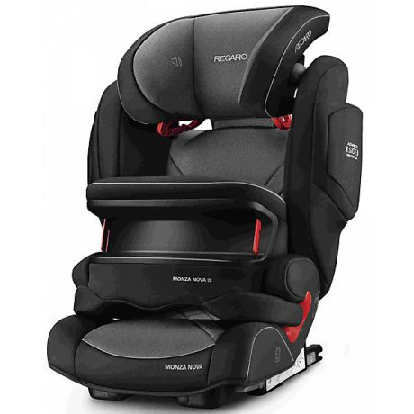 RECARO Автокресло RECARO Monza Nova IS Seatfix 9-36 кг, Carbon Black