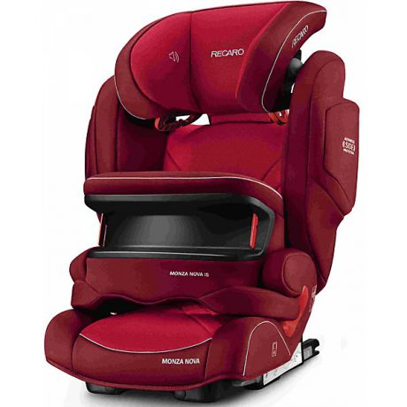 RECARO Автокресло RECARO Monza Nova IS Seatfix 9-36 кг, Indy Red