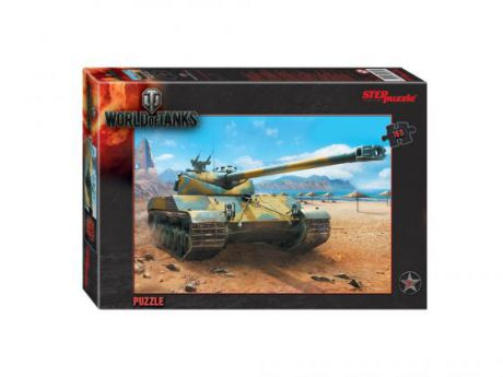 Пазл 160 элементов Step Puzzle World of Tanks 94031