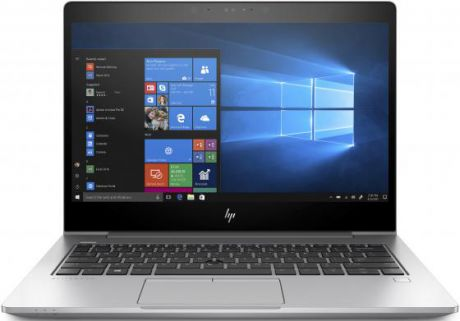 "Ноутбук HP EliteBook 830 G5 13.3"" 1920x1080 Intel Core i7-8550U 512 Gb 16Gb Intel HD Graphics 620 серебристый Windows 10 Professional (3JW93EA)"