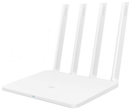 Маршрутизатор Xiaomi Mi Wi-Fi Router 3 802.11aс 1167Mbps 5 ГГц 2.4 ГГц 2xLAN USB белый