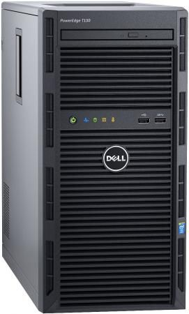 "Сервер Dell PowerEdge T130 1xE3-1230v6 1x16Gb 2RUD x4 3.5"" RW H330 iD8Ex 5720 2P 1x290W 3Y NBD cabled (210-AFFS-29)"