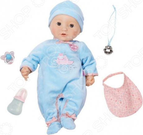 Пупс интерактивный Zapf Creation Baby Annabell «Мальчик»