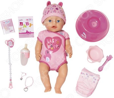 Пупс интерактивный Zapf Creation BABY born 825-938