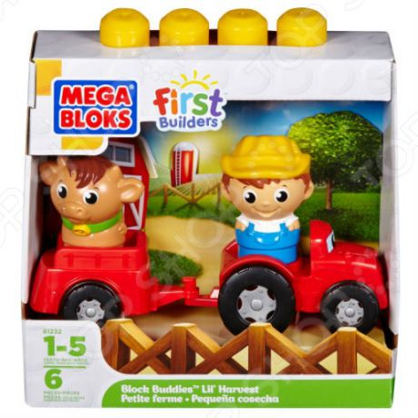 Мини-конструктор Mega Bloks First Builders