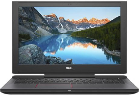 "Ноутбук Dell G5 5587 G515-7459 (Intel Core i7 8750H 2200 Mhz/15.6""/1920х1080/16384Mb/128Gb HDD/DVD нет/NVIDIA GeForce GTX 1060/WIFI/Linux)"