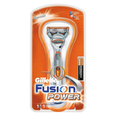 станок д/бритья GILLETTE Fusion Power +1кас.