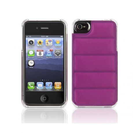 Чехол для Apple iPhone 4/4S Griffin Elan Form Fight GB03124 Orchid/Clear