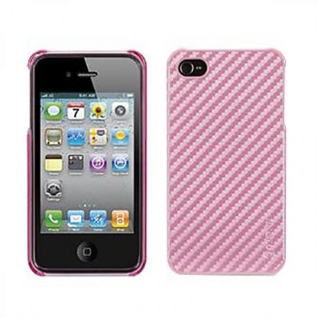 Чехол для Apple iPhone 4/4S Griffin Elan Form Graphite GB01697 Pink
