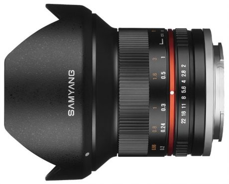 Объектив Samyang MF 12 mm F/2.0 ED AS NCS for Micro 4/3 Black