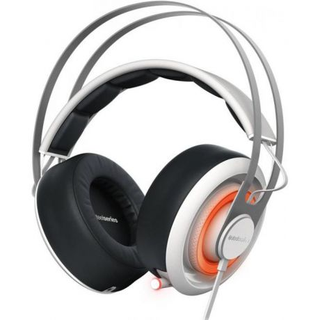 Наушники SteelSeries Siberia 650 White-Black