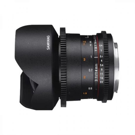 Объектив Samyang MF 14mm T3.1 ED AS IF UMC VDSLR II Sony E