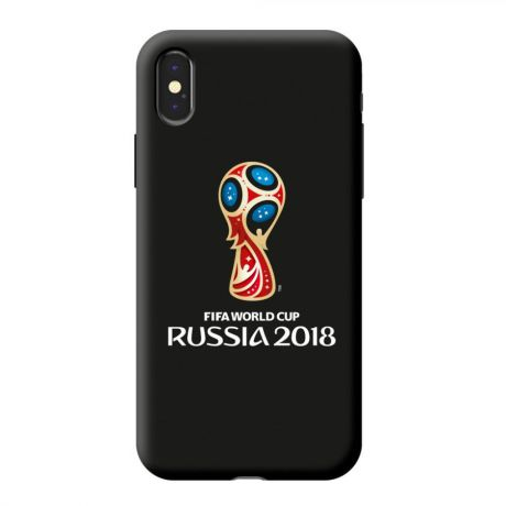 Чехол PC для Apple iPhone X, FIFA_Official Emblem, Deppa