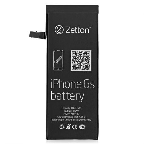 Аккумулятор Zetton ZTBATI6S для Apple iPhone 6S, 1850 mAh, Li-ion