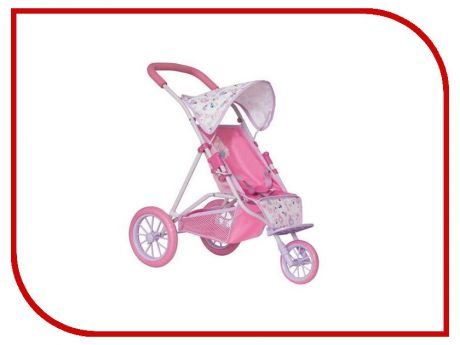 Коляска Zapf Creation Baby Born Pink 1423565
