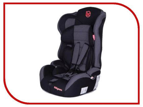 Автокресло Baby Care Upiter Plus группа 1/2/3 Black-Grey