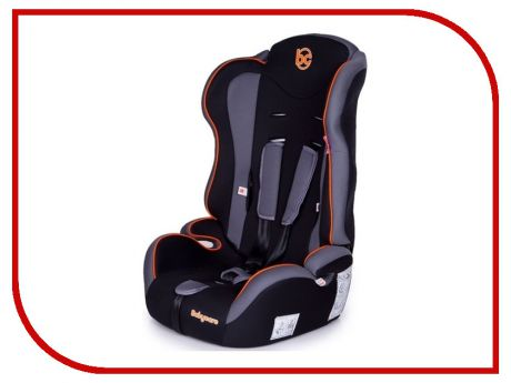Автокресло Baby Care Upiter Plus группа 1/2/3 Black-Orange