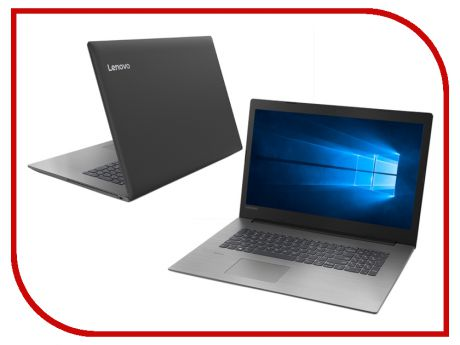 Ноутбук Lenovo IdeaPad 330-17IKB Black 81DK004ARU (Intel Core i5-7200U 2.5 GHz/8192Mb/1000Gb+128Gb SSD/nVidia GeForce MX110 2048Mb/Wi-Fi/Bluetooth/Cam/17.3/1600x900/Windows 10 Home 64-bit)