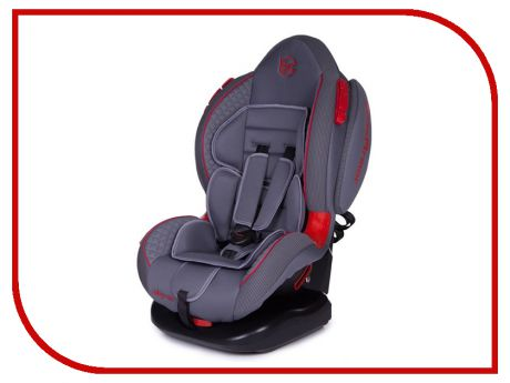 Автокресло Baby Care Polaris Isofix группа 1/2 Grey-Grey 4610027548315