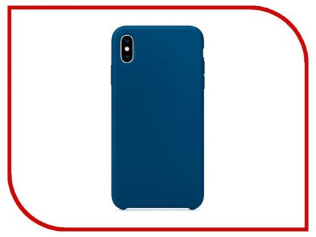 Аксессуар Чехол APPLE iPhone XS Max Silicone Case Blue Horizon MTFE2ZM/A