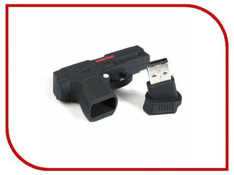USB Flash Drive 16Gb - SmartBuy Wild Series Пистолет SB16GBGN