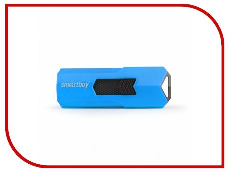 USB Flash Drive 16Gb - SmartBuy Stream Blue SB16GBST-B