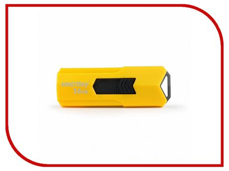USB Flash Drive 16Gb - SmartBuy Stream Yellow SB16GBST-Y