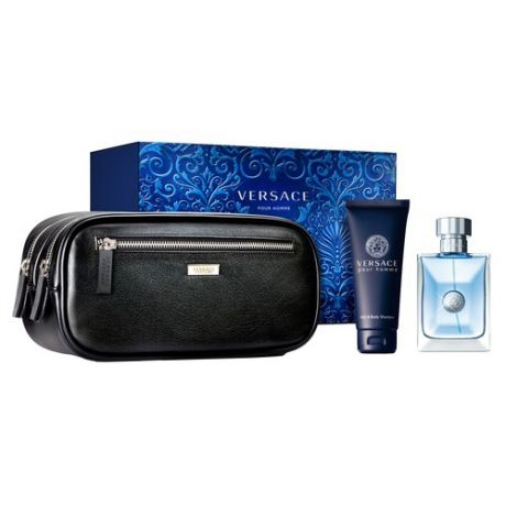 Versace Набор Versace Pour Homme с Косметичкой