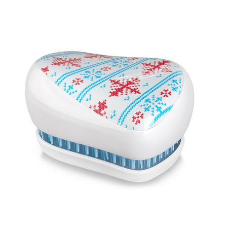 Tangle Teezer Расческа Tangle Teezer Compact Styler Winter Frost Белый