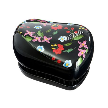 Tangle Teezer Расческа Tangle Teezer Compact Styler Embroidered Floral Черный
