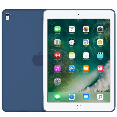 Чехол для iPad Pro 9.7 Apple Silicone Case Ocean Blue