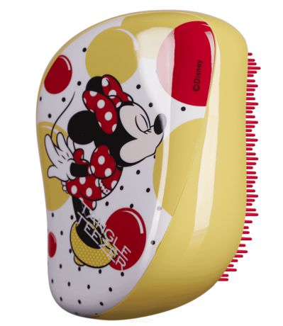 Расческа для волос Compact Styler Minnie Mouse Sunshine Yellow