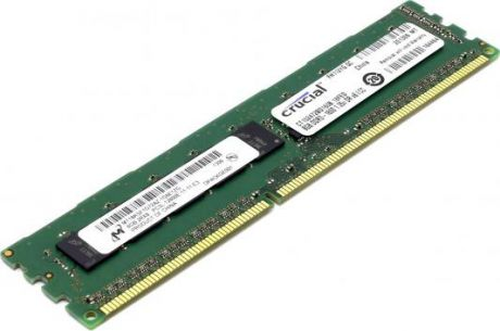 Оперативная память 8Gb (1x8Gb) PC3-12800 1600MHz DDR3 DIMM ECC CL11 Crucial CT102472BD160B