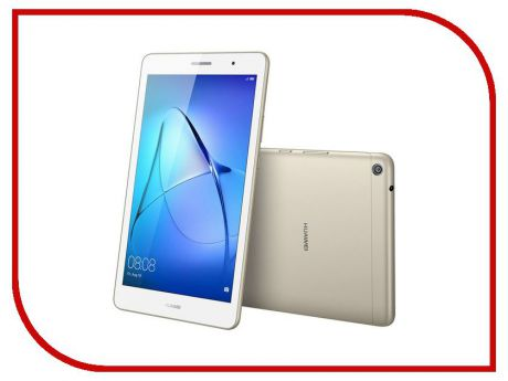 Планшет Huawei MediaPad T3 8 LTE 16Gb KOB-L09 Gold 53018494 (Qualcomm Snapdragon MSM8917 1.4 GHz/2048Mb/16Gb/LTE/3G/Wi-Fi/Cam/8.0/1280x800/Android)